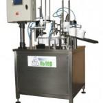 Дозировочно-упаковочный автомат карусельного типа «АЛЬТЕР-01», с объемом дозирования до 1000 мл, диаметр тары 130 мм