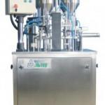 Дозировочно-упаковочный автомат карусельного типа «АЛЬТЕР-01» для двухкомпонентных пастообразных продуктов