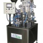 Дозировочно-упаковочный автомат карусельного типа «АЛЬТЕР-01» для фасовки традиционного или зерненного творога