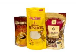 Пакеты Doy-pack - удобная упаковка для жидких продуктов